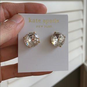 Kate Spade large round earrings